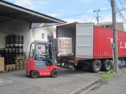安心・安全 高品質の商品管理:荷降ろし
