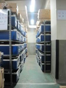 安心・安全 高品質の商品管理:入庫